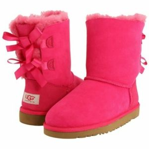 Uggs Cerise bailey bow pink toddlers